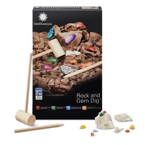 Smithsonian Rock and Gem Dig Kit - image 1 of 3