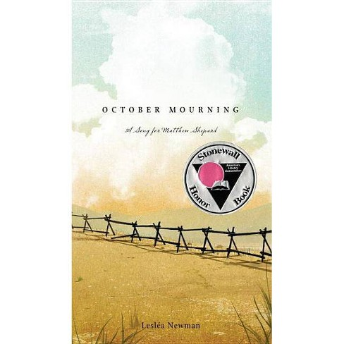 October Mourning - by  Leslea Newman (Hardcover) - image 1 of 1