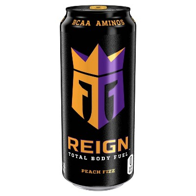 Reign Peach Fizz Energy Drink - 16 fl oz Can