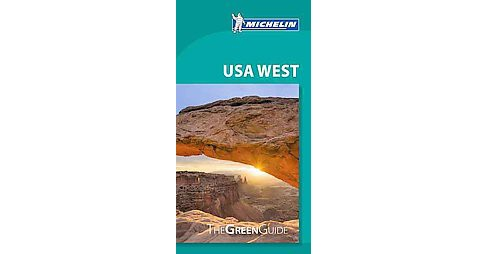 Michelin Green Guide USA West (Paperback) - image 1 of 1