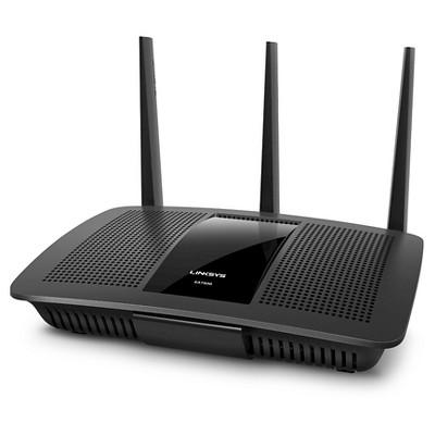 Linksys MAX-STREAM AC1900 Dual-Band MU-MIMO Smart Wi-Fi Gigabit Router, Qualcomm IPQ 1.4GHz Dual Core Processor, Ideal for 4K TV (EA7500)
