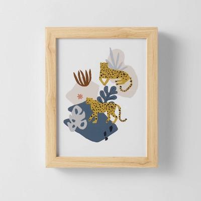 Cheetah Jungle Wall Art - Pillowfort™