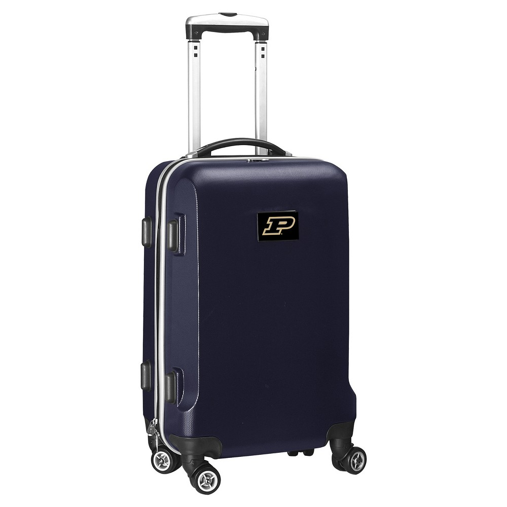 NCAA Purdue Boilermakers Navy Hardcase Spinner Carry On Suitcase