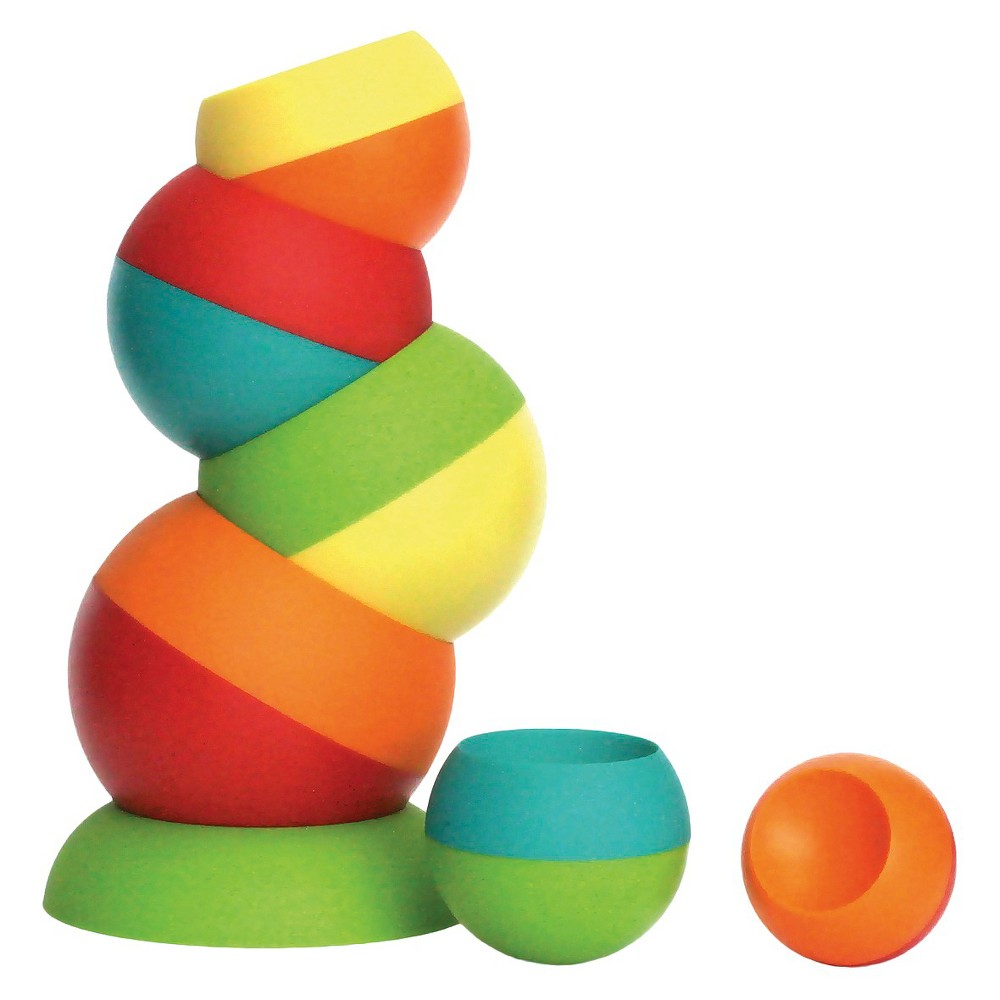 Fat Brain Toys Tobbles, stacking and sorting toys