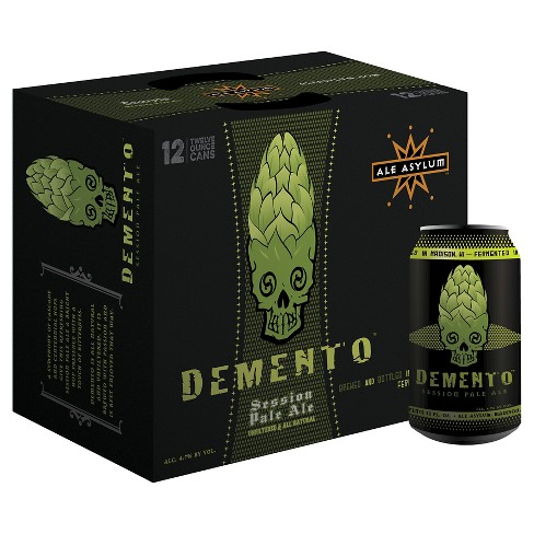 Ale Asylum® Demento Session Pale Ale - 12pk / 12oz Cans - image 1 of 1