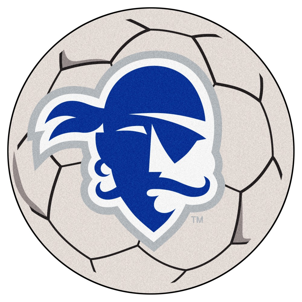 NCAA 27 Soccer Ball Mat Seton Hall Pirates
