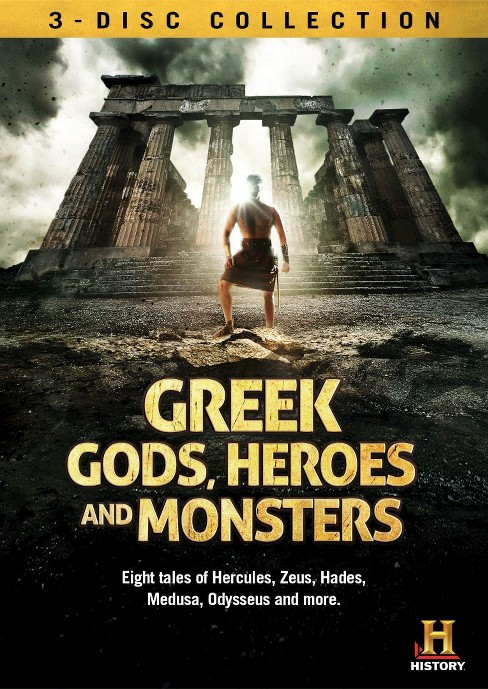 Greek gods heroes and monsters (DVD) - image 1 of 1