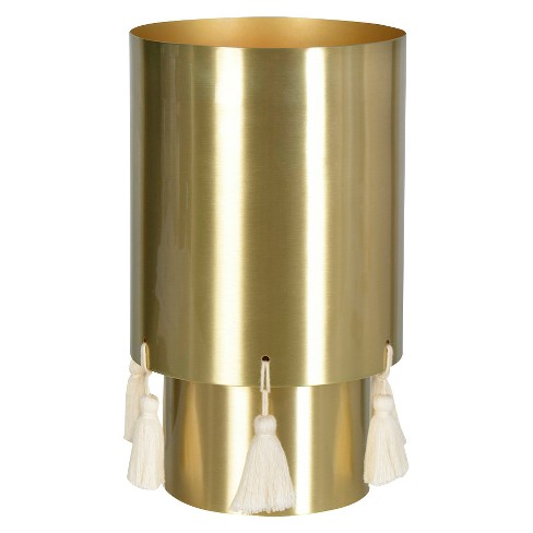 Ambient Lamp, Gold with Ivory Tassel - Nate Berkus™ - image 1 of 2