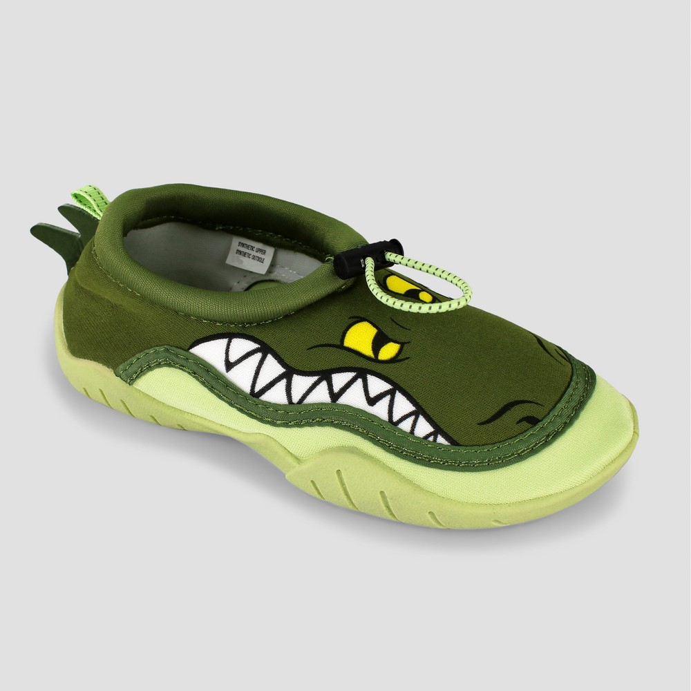 Image of Boys' Body Glove Croc Water Shoes - Green 11, Kids Unisex