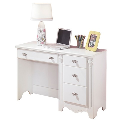 Exquisite Bedroom Desk White - Signature Design by Ashley - image 1 of 3