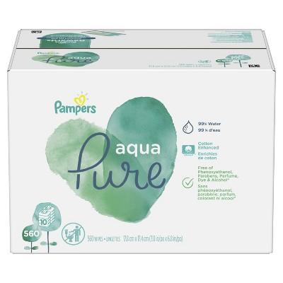 Pampers Aqua Pure 10X - 560ct