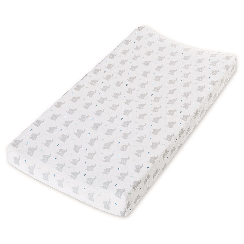 Image of Aden by Aden + Anais Changing Pad Cover - Baby Star