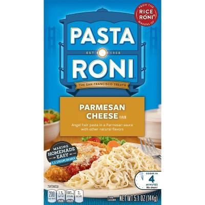 Pasta Roni Parmesan Cheese Flavored Angel Hair Pasta Mix 5.1oz