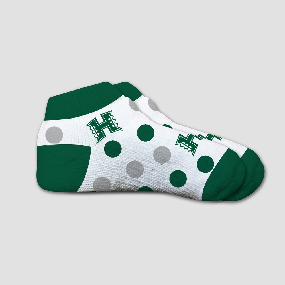 NCAA Hawaii Rainbow Warriors Polka Dot Infant Socks 2T-4T, Infant Unisex
