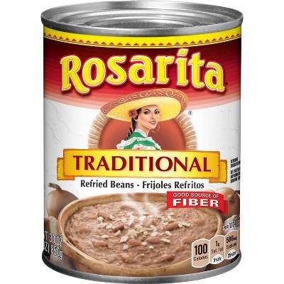 Rosarita Traditional Refried Beans - 30oz