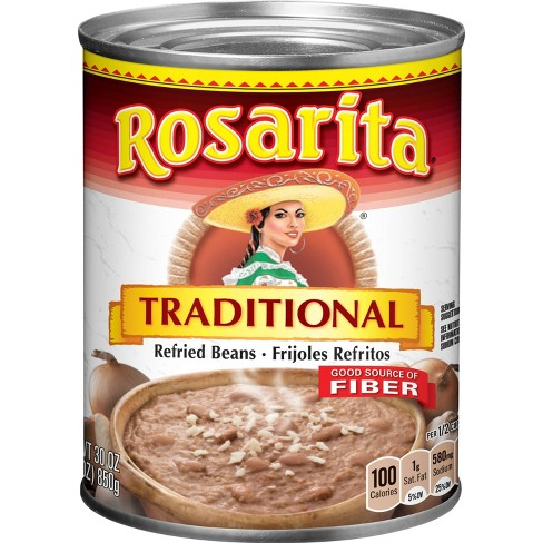 Rosarita Traditional Refried Beans - 30oz - image 1 of 3
