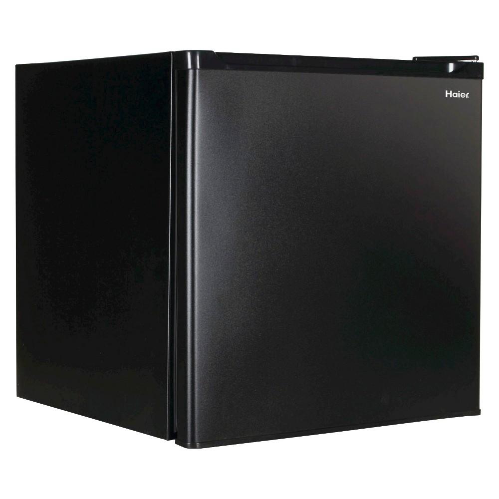 Haier 1.7 Cu. Ft. Energy Star Refrigerator/Freezer, Black, HC17SF15RB