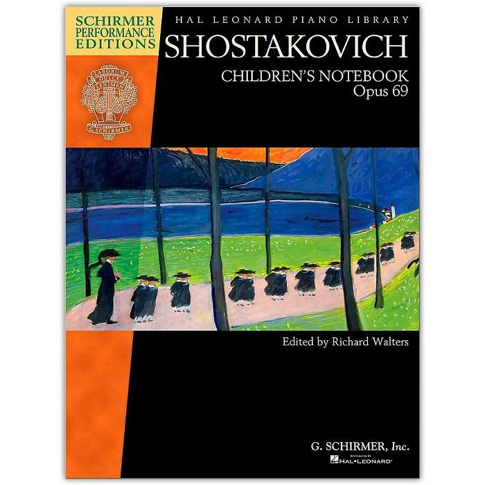 G. Schirmer Shostakovich - Children's Notebook, Opus 69 Schirmer Performance Edition - image 1 of 1
