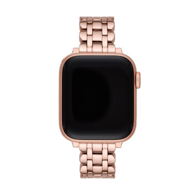 Kate Spade New York Rose Gold-Tone Stainless Steel Scallop 38/40mm Bracelet Band for Apple Watch