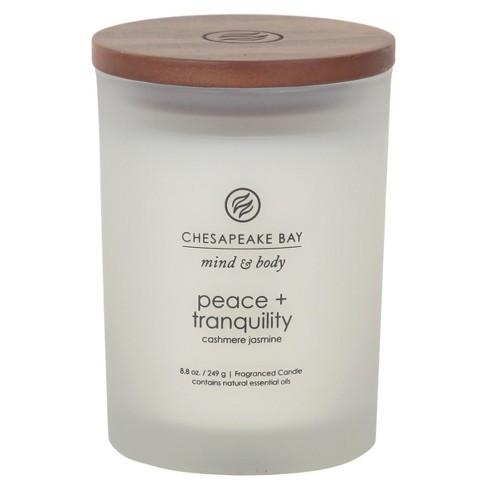 8.8oz Medium Jar Candle Peace & Tranquility - Chesapeake Bay Candle - image 1 of 1
