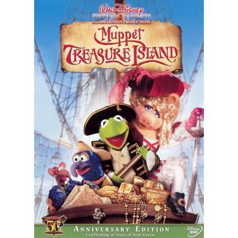 Muppet Treasure Island (Kermit's 50th Anniversary Edition) (DVD) - image 1 of 1