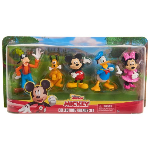 Disney Mickey Mouse Collectible Friends Set 5pc - image 1 of 4