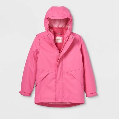 Girls' 3-in-1 Rain Jacket with Vest - Cat & Jack™