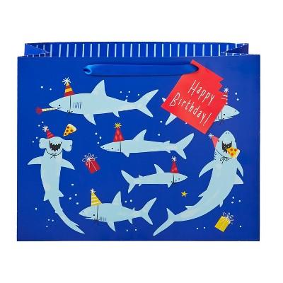Large Shark Party Gift Bag - Spritz™