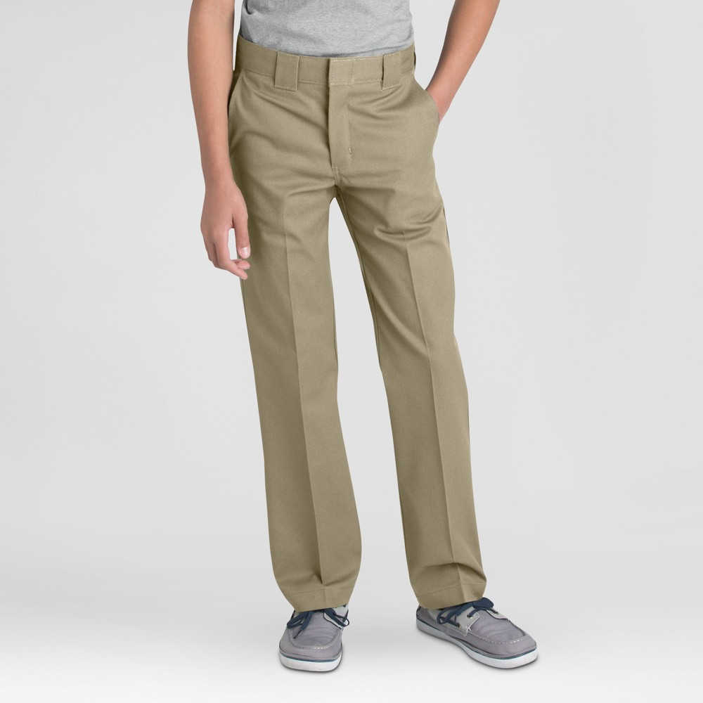 Dickies Boys' Slim Straight Pants - Desert Sand 20