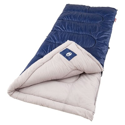 Coleman® Brazos Cold Weather Sleeping Bag - Navy/Gray