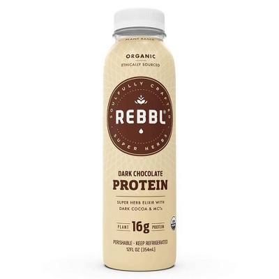 Rebbl Protein Dark Chocolate - 12 fl oz