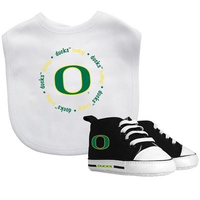 NCAA Baby Fanatic Bib and Shoe Set Oregon Ducks