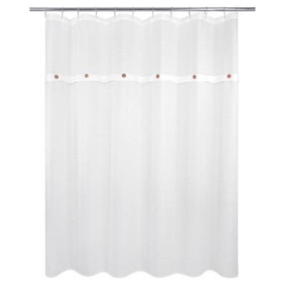 Taylor Shower Curtain White - Allure Home Creations