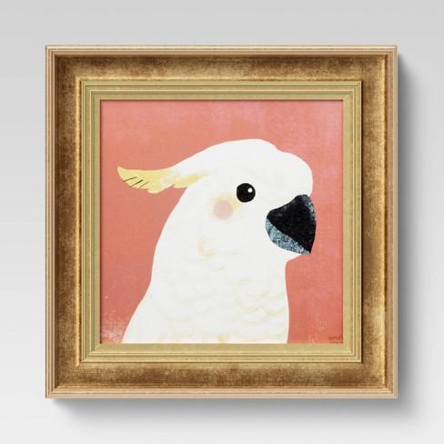 "12"" x 12"" Cockatoo Recessed Frame - Opalhouse™ - image 1 of 4"