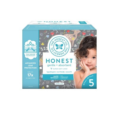 The Honest Company My Dear Disposable Diapers - Size 5 - 50ct