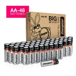 Energizer Household AA Batteries - 48pk