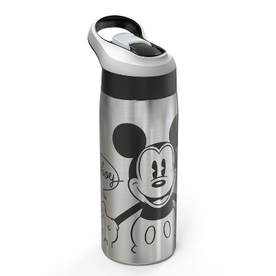 Disney Mickey Mouse & Friends Mickey Mouse 19oz Stainless Steel Water Bottle Black/Red - Disney store