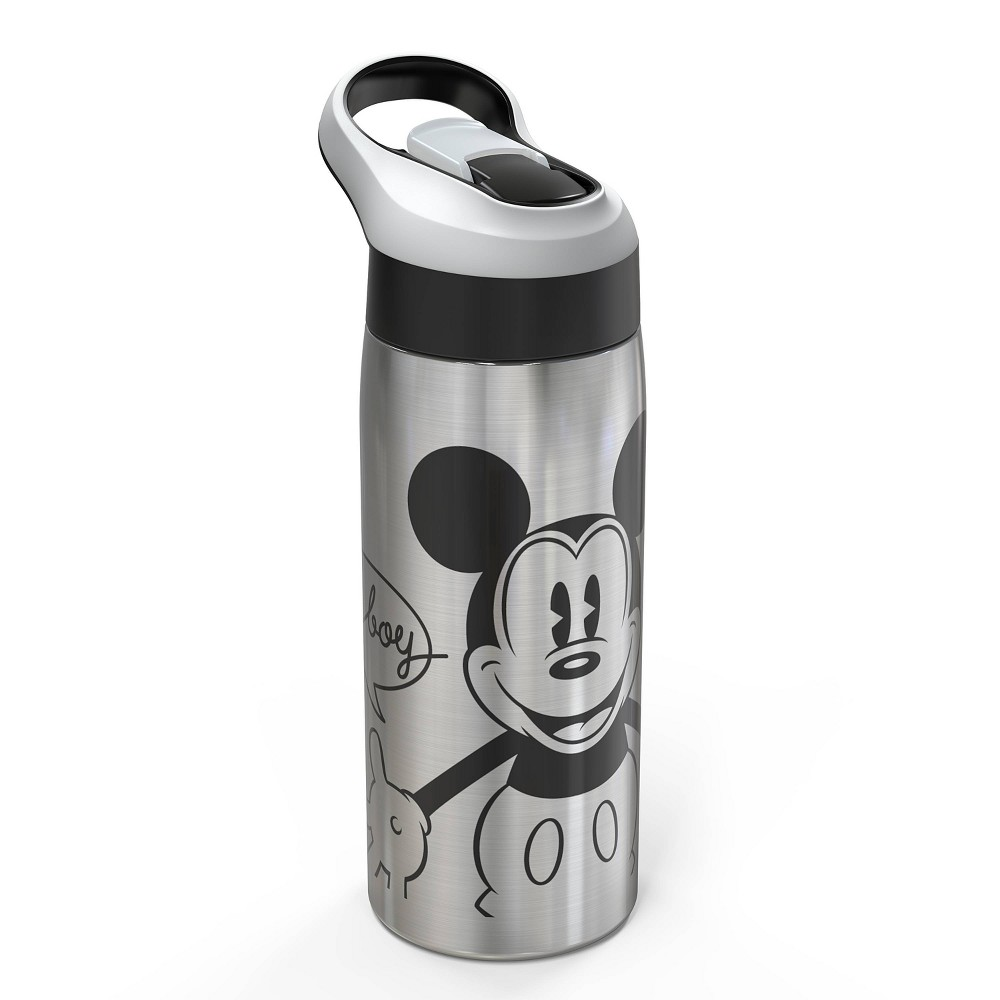 Disney Mickey Mouse 38 Friends Mickey Mouse 19oz Stainless Steel Water Bottle Black Red Disney Store