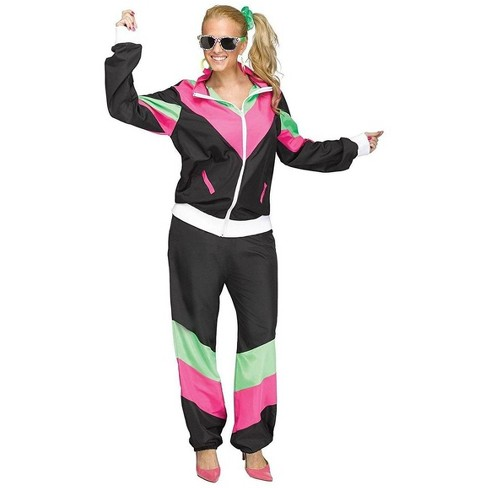 Funworld 80's Track Suit Adult Costume - image 1 of 1