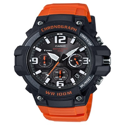 Men's Casio Analog Watch - Orange