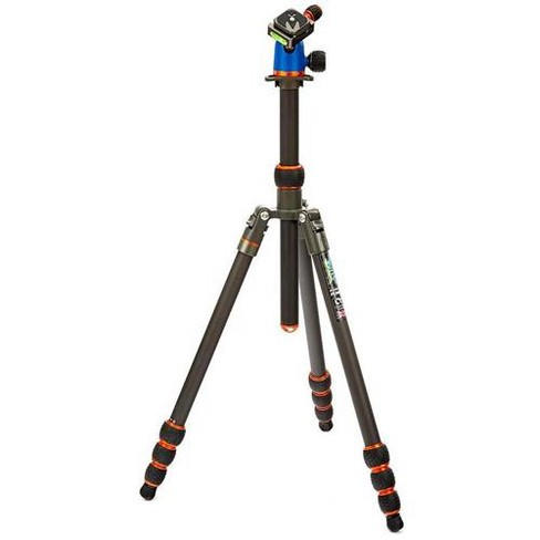 3 Legged Thing Billy 5-Section Carbon Fiber Tripod with AirHed Neo Ballhead, 40 lbs Capacity, 23mm Max Leg Tube Diameter, 65  Max Height - image 1 of 4
