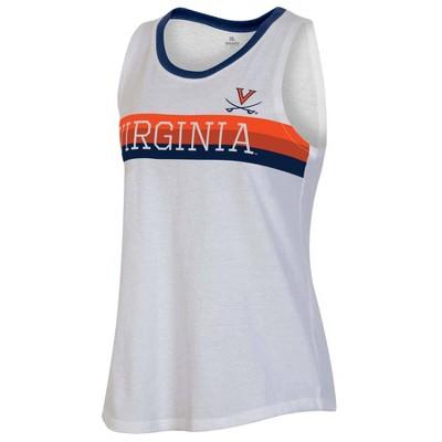 NCAA Virginia Cavaliers Women's White Tank Top
