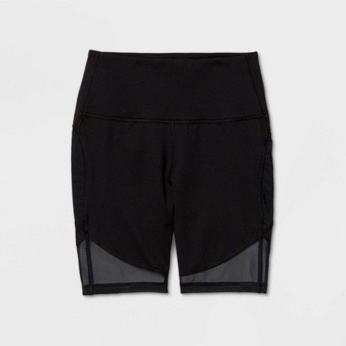 """Women's High-Rise Contour Curvy Bike Shorts 7"""" - All in Motion™ - image 1 of 2"""