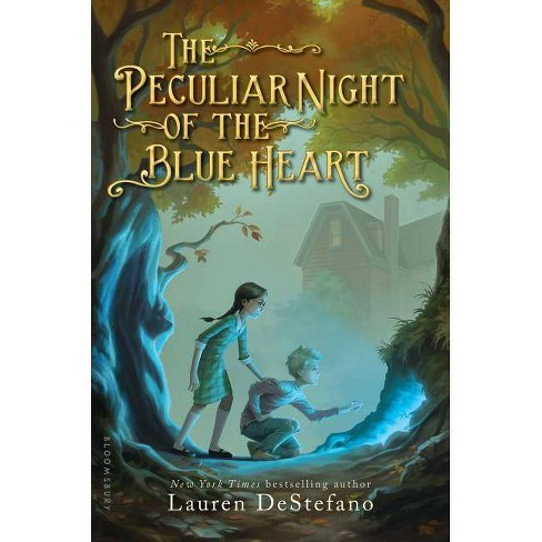 The Peculiar Night of the Blue Heart - by  Lauren DeStefano (Hardcover) - image 1 of 1