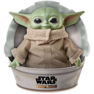 """Star Wars Grogu Plush Toy, 11"""" """"The Child"""" Character from The Mandalorian"""
