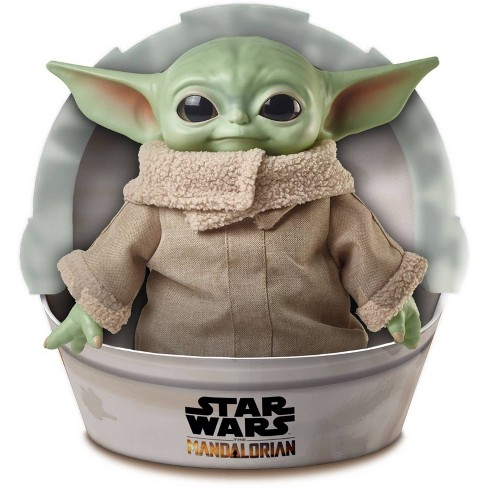 """Star Wars Grogu Plush Toy, 11"""" """"The Child"""" Character from The Mandalorian - image 1 of 4"""