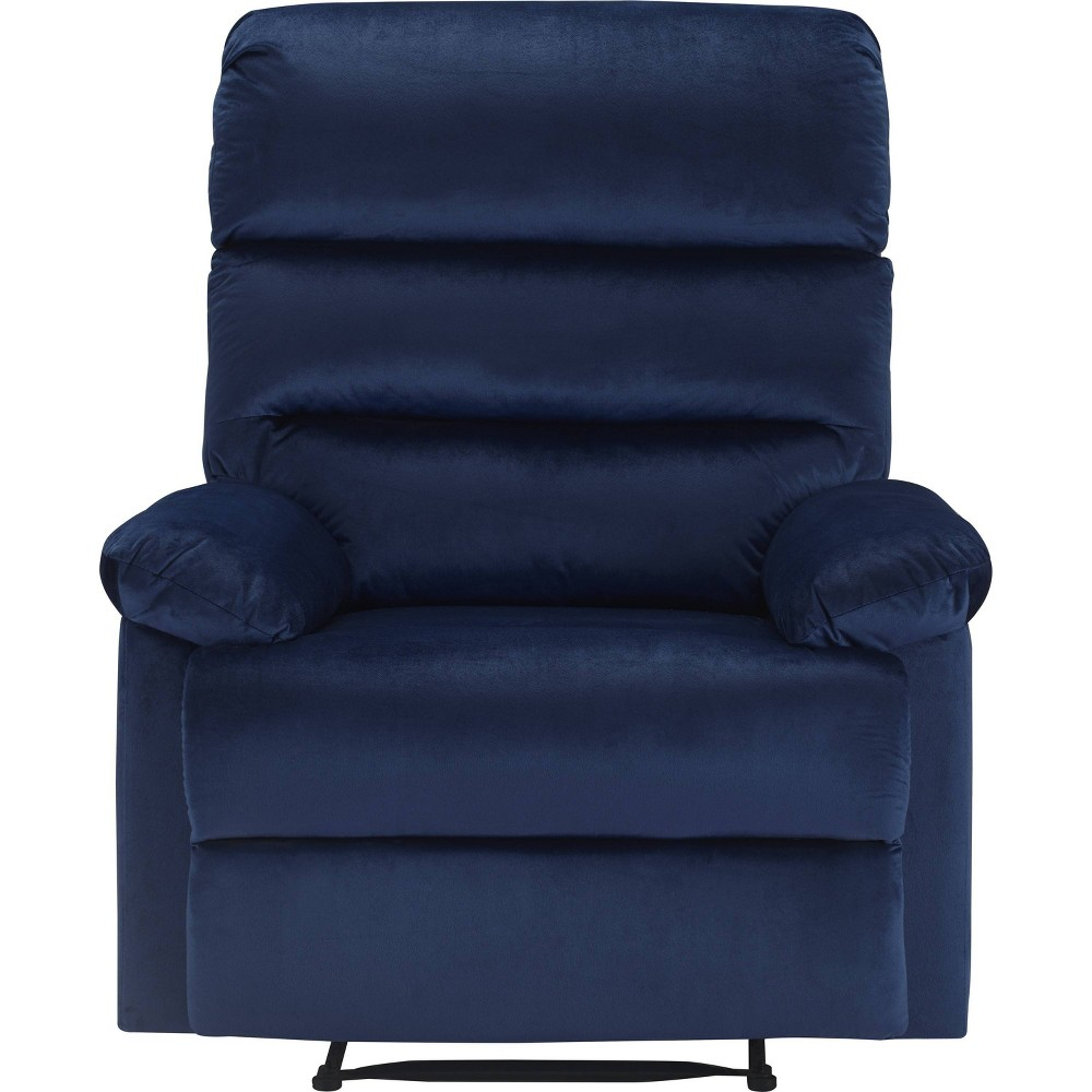 Image of Davis Recliner Chair Blue - Click Décor