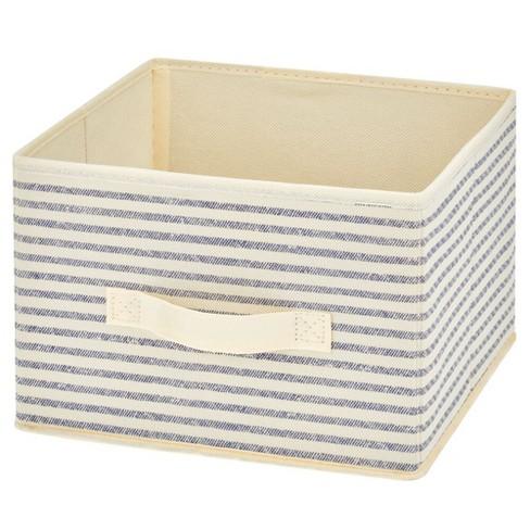 mDesign Soft Fabric Closet Storage Organizer Cube Bin, 10 pack - image 1 of 4