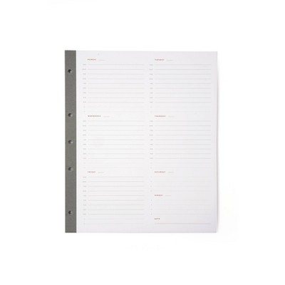 Russell+Hazel Signature Smartdate Weekly Sheets