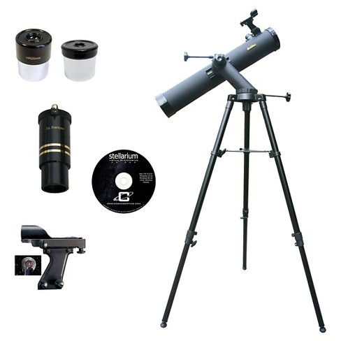 Cassini Galileo G-80080TR Tracker Series Reflector Telescope - Black (800mm X 80mm) - image 1 of 2